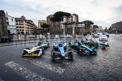 Formula E cars line-up on the streets of Rome.jpg